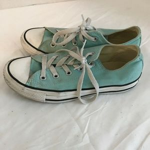 Converse Unisex Mint Green Sneakers